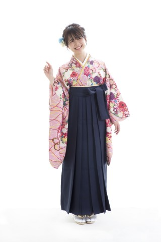 No.3936 HIMARIオリジナルデザイン卒業袴