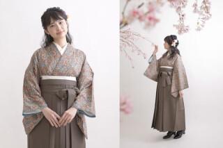 No.5794 オリジナルブランドEMMA着物×くすみカラー袴