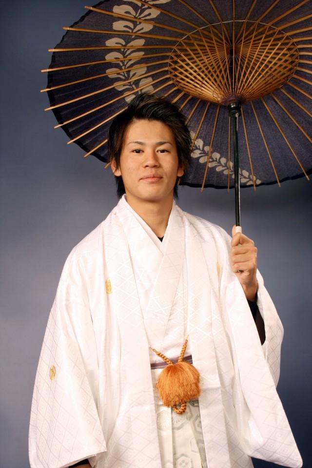 紋付き袴セットの衣装画像1