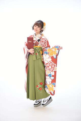 No.6168 【オリジナル】片身代わり椿・レース