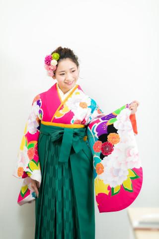 卒業袴フォトプラン(外出無)