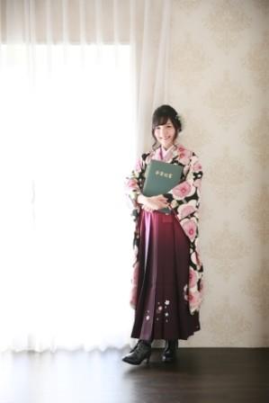 ぼかし刺繍袴の衣装画像1