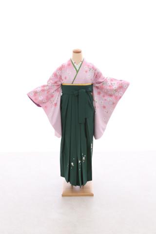 No.5066 卒業袴フルセットレンタル 二尺袖×古典柄