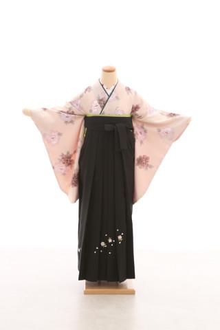 No.5079 卒業袴フルセットレンタル 二尺袖×古典柄