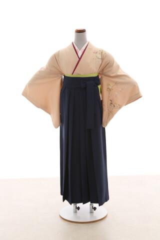 No.5493 卒業袴フルセットレンタル 訪問着×袴