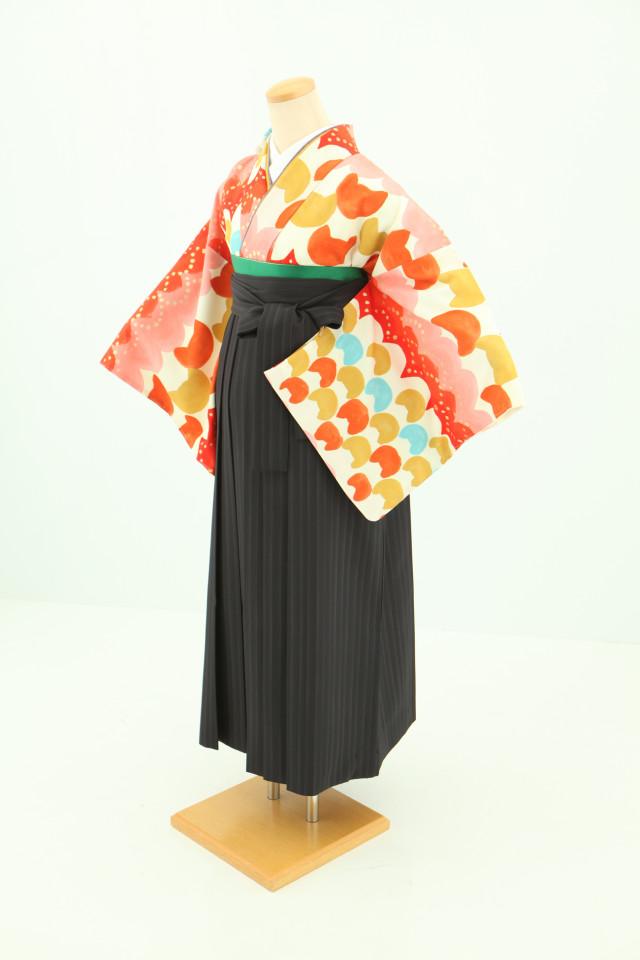 卒業袴フルセットレンタルの衣装画像1