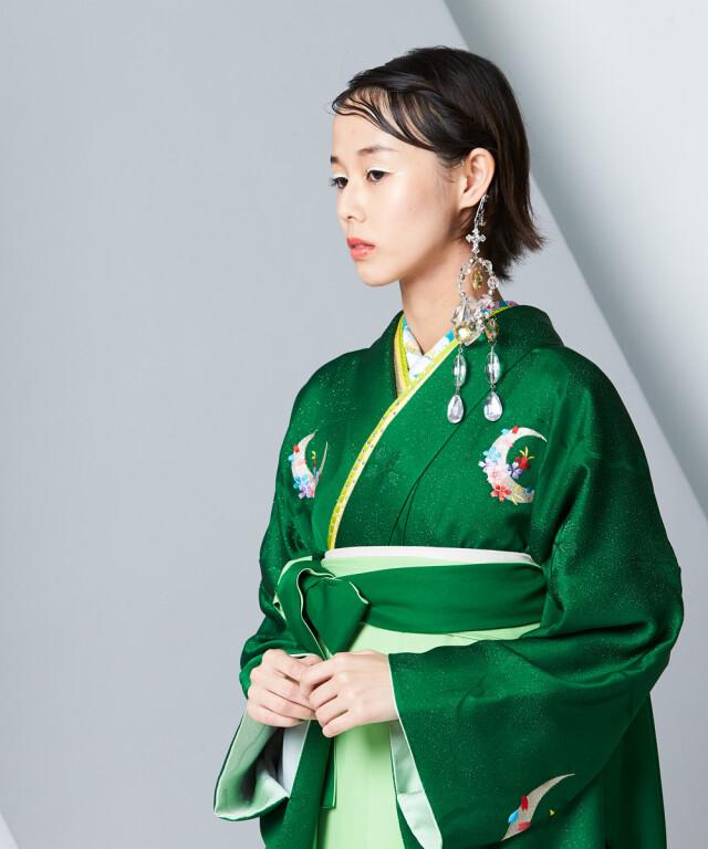 【卒業袴】艶やかに煌めく☆五彩/エバーグリーン J-ROSSOの衣装画像2