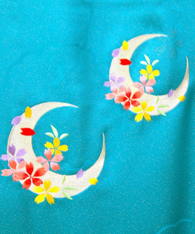 【卒業袴】爽やかな美しさ☆五彩/スプラッシュブルー J-ROSSOの衣装画像3