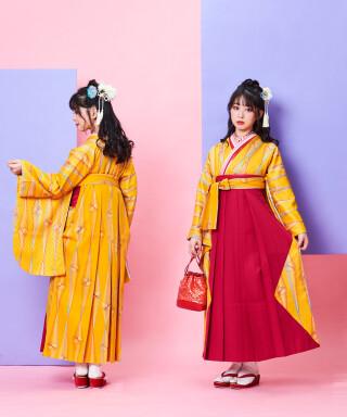 No.5027 【卒業袴】卒業式で輝くHappy女子☆ぷりずむ J-ROSSO