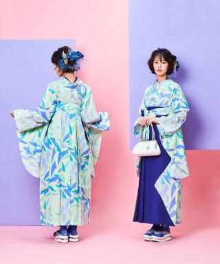 No.5030 【卒業袴】青袴でクールに決めて☆すたーだすと J-ROSSO