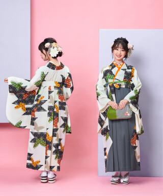 No.5041 【卒業袴】麻の葉スマート☆あさのはもん J-ROSSO