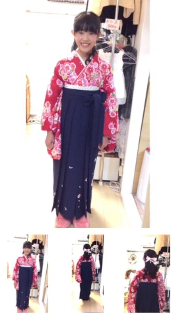 小学生袴の衣装画像3