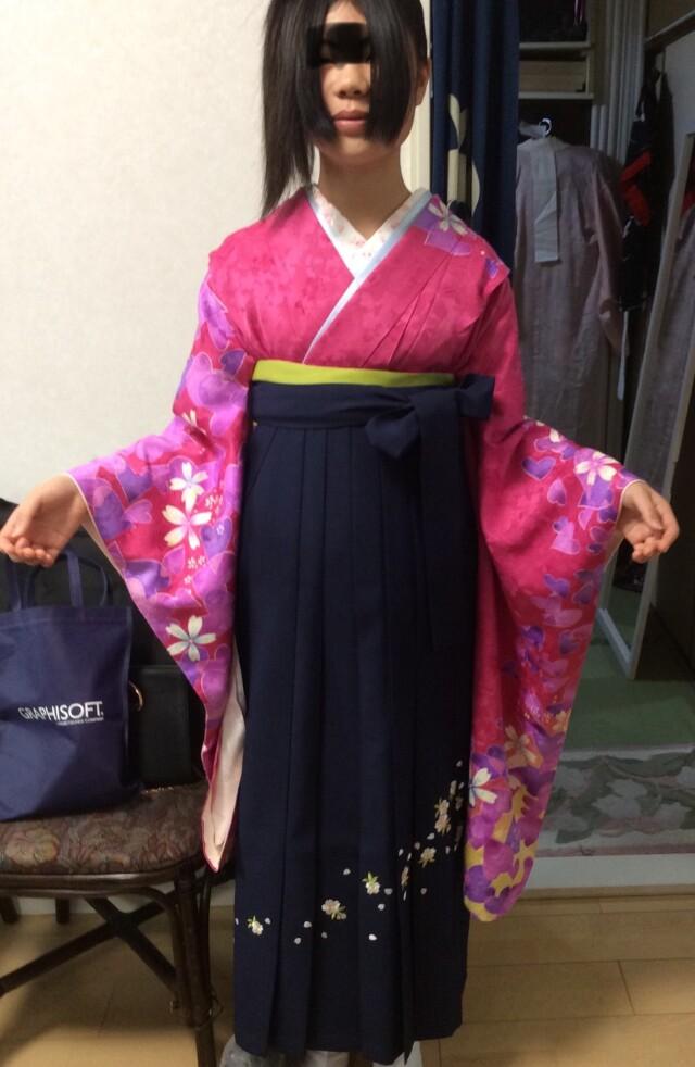 小学生袴の衣装画像1