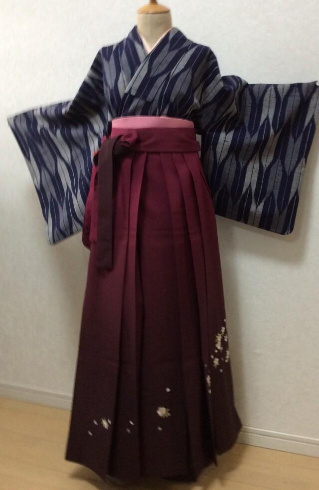 大学生袴の衣装画像3