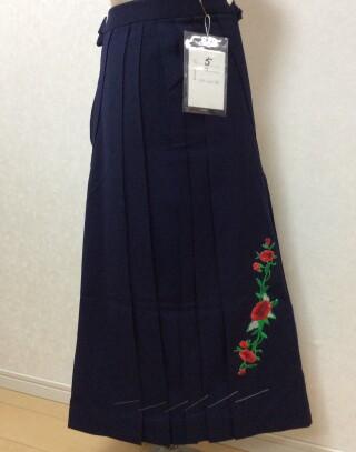 No.5553 140cm〜145cm 小学生女子 紺色袴