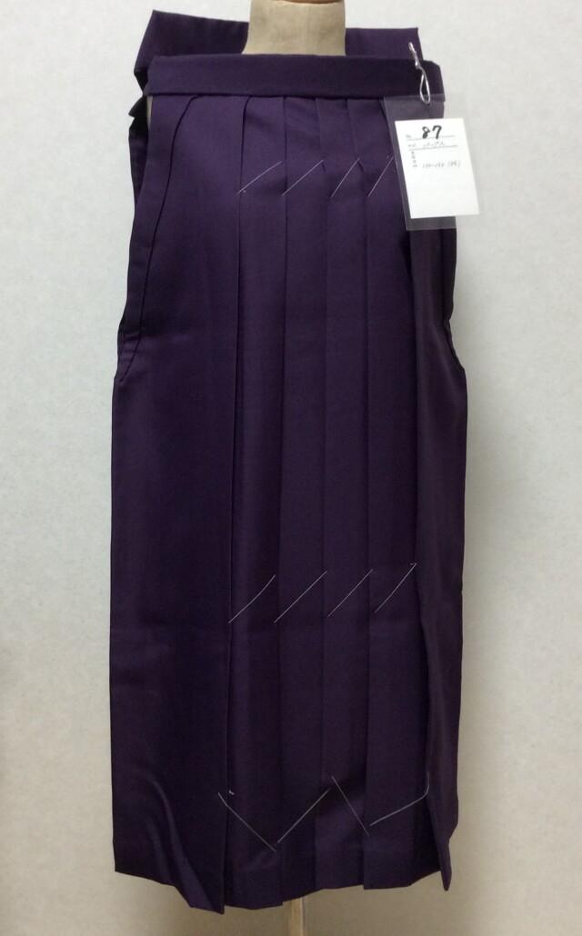 150cm〜155cm 小学生 パープル袴の衣装画像1