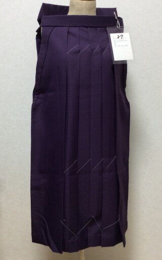 No.5554 150cm〜155cm 小学生 パープル袴