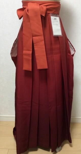 No.5561 161cm〜165cm エンジグラデション(紅色)袴