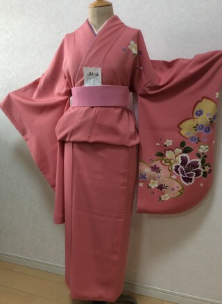 No.5732 ピンク色 花柄