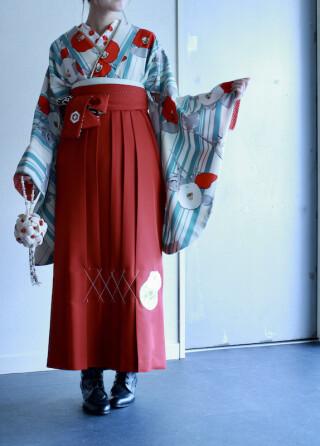 No.5546 九重の卒業Kimono