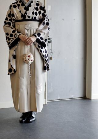 No.5551 Modern Antenna二尺袖Kimono