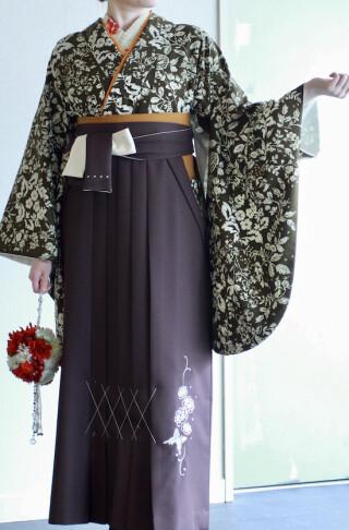 No.5709 Kami Shibai二尺袖Kimono