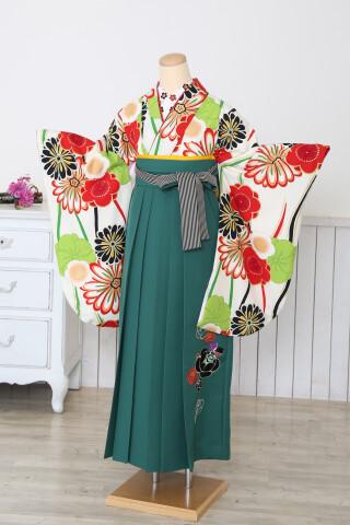 二尺×刺繍袴