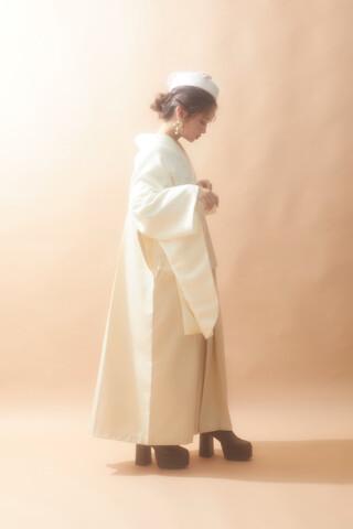 No.6365 白×白 2022年おすすめ着物